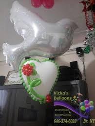balloon delivery bronx ny arreglo de san valentin vicko s balloons