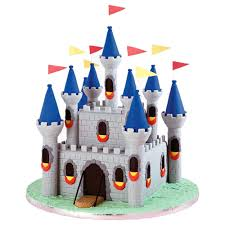 Medieval Decorations by Medieval Fortress Castle Cake Wilton