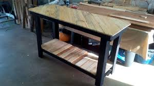 pallet kitchen island pallet furniture you can complete in a weekend construction2style