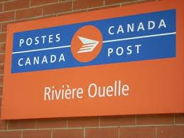 bureau de poste pr騅ost bureau de poste de rivière ouelle rivière ouelle post office qc