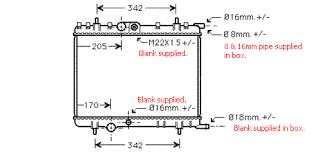 peugeot 307 car radiator replacement radiators from adrad