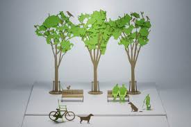 1 100 architectural model accessories series no 10 street tree