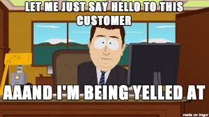 Working In Retail Memes - oh the joys of working in retail meme guy
