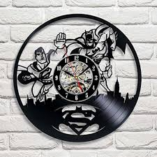 batman arkham city logo best wall clock decorate your home with