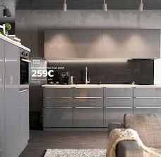 cuisine gris laque cuisine gris perle laque idées de design maison et idées de meubles