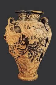 Minoan Octopus Vase Marine Style Rhyton From Phaistos Late Minoan Ib Period