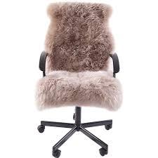 cuscini per sedia a dondolo speciale per l inverno intero pelliccia di pecora copertura della