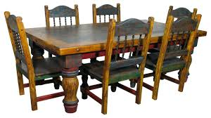 Spanish Style Dining Room Furniture Rustic Mexican Living Roommexican Dining Room Tables Style Sets