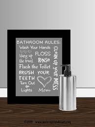 Bathroom Quotes For Walls 21 Best Bathroom Wall Quotes Images On Pinterest Bathroom Wall