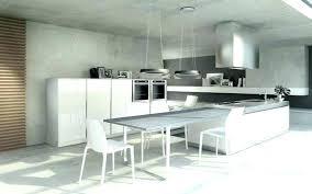 cuisine avec ilo cuisine avec ilot central et table aussi central table cuisine