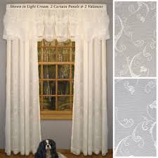 Black Window Valance Curtain Touch Of Class Curtains Window Valance Ideas Cafe Curtain