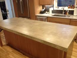 Countertops Cost by Polished Cement Countertops Cost Ideas With Best Concrete Kitchen