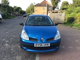 2006 renault clio 1 4 16v expression 5dr manual 07445775115 in