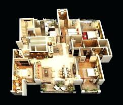four bedroom house plan house plans with 4 bedrooms mantiques info