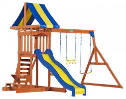 Backyard Discovery Atlantis by Backyard Discovery Somerset Wood Swing Set Ct Outdoor