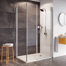 pivot shower door enclosures shower enclosures by style roman