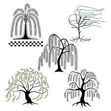 willow tree svg cuttable designs