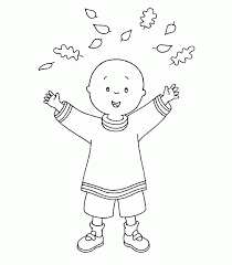 caillou coloring pages printable caillou coloring pages