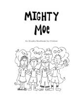mighty moe an anxiety workbook for children free social work