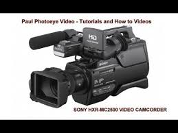 sony hvl le1 handycam camcorder light how to use a sony hxr mc2500 inexpensive led light youtube