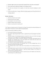journal study of the sales u0026 distribution network of leading fmcg u0027s