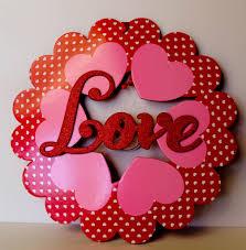 super easy valentine u0027s day wreath