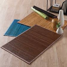 Tapis Bambou Grande Taille by Tapis En Bambou But Gallery Of Douce Pour Amortir Sa Chute La