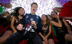 youtube star caspar lee reimagines christmas caroling for younger