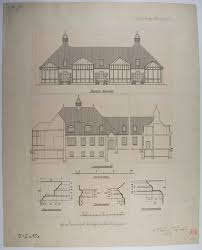 architectural plans collection of 10 printed architectural plans u0026 drawings by ludwig