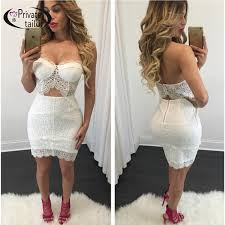 two dress set aliexpress buy nattemaid beautiful trimming lace strapless