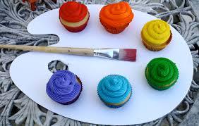 artist u0027s palette cupcakes u2013 the quotable kitchen