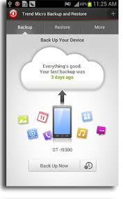 android backup trend micro mobile backup and restore