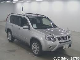 nissan x trail for sale 2012 nissan x trail silver for sale stock no 35783 japanese