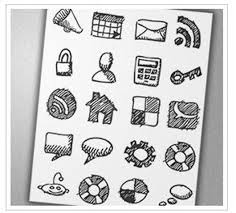 30 creative free hand drawn icon sets inspirationfeed
