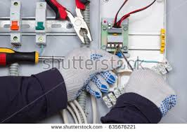 installation electrical devices stock photo 645258646 shutterstock