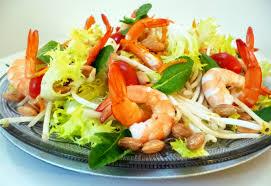 cuisine crevette salade de crevettes au wasabi la recette facile par toqués 2 cuisine
