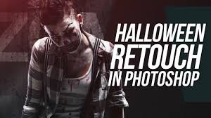 complete halloween retouching photoshop tutorial youtube