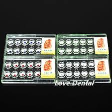 40 pcs 4boxs dental tooth ornaments tooth gems teeth