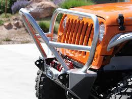 jeep stinger bumper jk stinger grill guard front bumper aluminum genright jeep parts