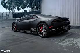 Lamborghini Huracan All Black - stealthy lamborghini huracan sits on custom pur wheels