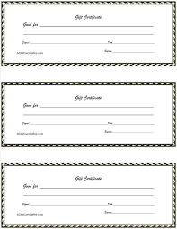 Free Printable Gift Certificate Template Word Free Printable Gift Certificates A Chat Over Coffee