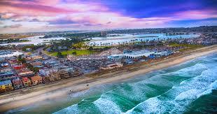 San Diego Beaches Map by San Diego Beach And Bay Half Marathon