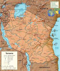 Africa Map Rivers Tourist Guide Tanzania Map Lake Victoria Travel Africa