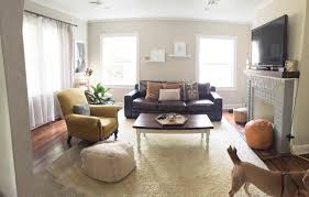 Living Room Ideas For Yelle And Gray Always Rooney How Our Living Room Has Changed This Past Year