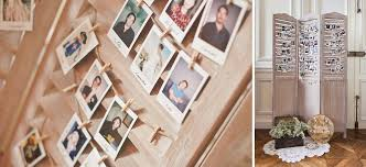 idã e plan de table mariage le mariage romantique de natacha sur le thème de la photographie