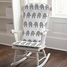 Amazoncom Carousel Designs Shabby Chenille Rocking Chair Pad Baby - Design rocking chair