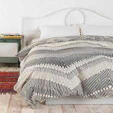 magical thinking gray net tassel duvet cover