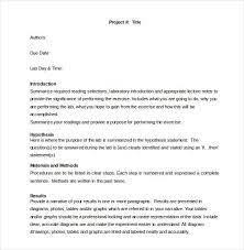 mi report template physics lab report template formal lab report exle preview