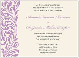 lavender wedding invitations vintage ornate lavender flourish wedding invitations stationery