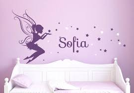 W by Tinkerbell Decals For Walls Marvelous Design Fairy Wall Art